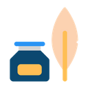 Ink And Quill Icon