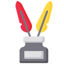 Ink  feather Icon