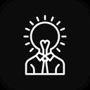Innovation Creative Head Icon
