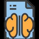 Brain Innovative File Creative File Icon