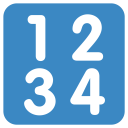 Input Numbers Numerical Icon