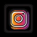 Instagram Social Media Connection Icon