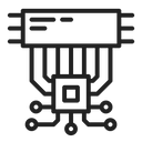 Chip Chipset Data Icon