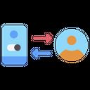 Interaction User Communication Icon