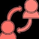 Interchange Exchange Network Icon