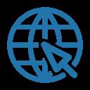 Internet Line Web Icon