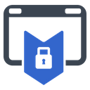 Internet Secure Icon