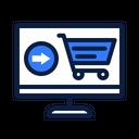 Internet Shopping Online Add Icon