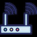 Internet Signals Modem Device Modem Signals Icon