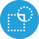 Intersect Intersection Path Icon