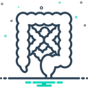 Intestine Alimentary Digestive Icon