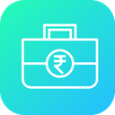Investment Budget Indian Icon