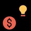 Investment Finance Creative Idea Icon