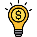 Investment idea Icon