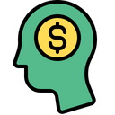 Investment Thinking Investor Thinking Investor Mind Icon