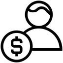 Dollar Finance User Icon