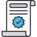 It Verification Verification Document Verified Icon