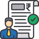 Itr For Professionals Tax Document Tax Payment Icon