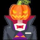 Jack O Lantern Horror Avatar Icon