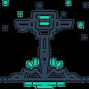 Jackhammer Breaker Tool Icon