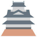 Japanese Castle King Icon