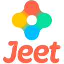 Jeet Original Wordmark Icon