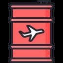 Jet Fuel Oil Barrel Barrel Icon