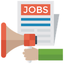 Job Promotion Job News Job Vacancy Icon