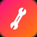 Job Tool Wrench Icon
