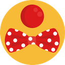 Joker Ribbon Ribbon Dot Icon