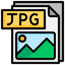 Jpg File File Folder Icon