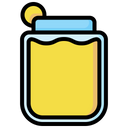 Juice Glass Fruit Icon