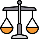Justice Balance Scale Icon