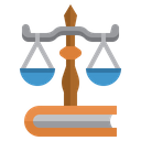Justice Law Balance Icon