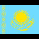 Kazakhstan Flag Country Icon