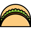 Kebab Taco Meat Icon