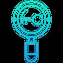 Keyword Search Find Icon