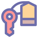 Key Room Security Icon
