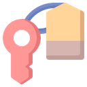 Key Room Security Icon