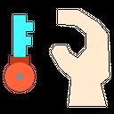 Key Hand Idea Icon