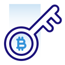Bitcoin Cryptocurrency Electronic Cash Icon
