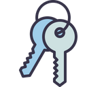 Key Keys Access Icon