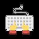 Keyboard Typing Keys Icon