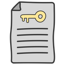 Seo Documentation Keyword Creation Icon