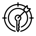 Keyword Target Icon