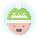 Hat Head Snow Icon