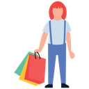 Kids Shopping Shopping Time Kids Accessories Icon
