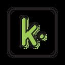 Kik Social Media Network Icon