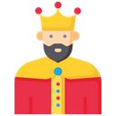 King Royal Costume Icon