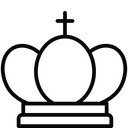 King Gambit Raja Icon